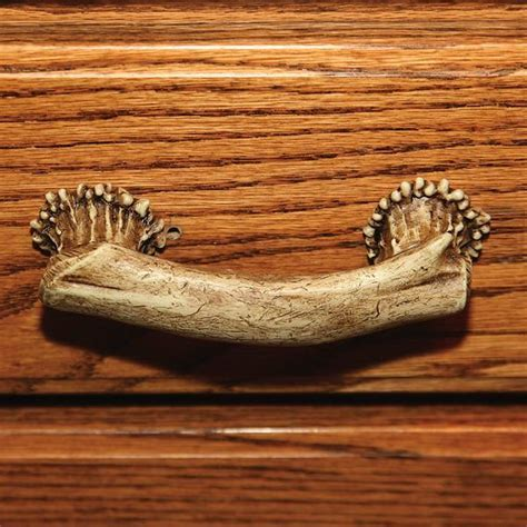 Deer Antler Drawer or Cabinet Pull 655   Buffalo Trader Online