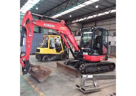 kubota  mini excavators  listed  machinesu
