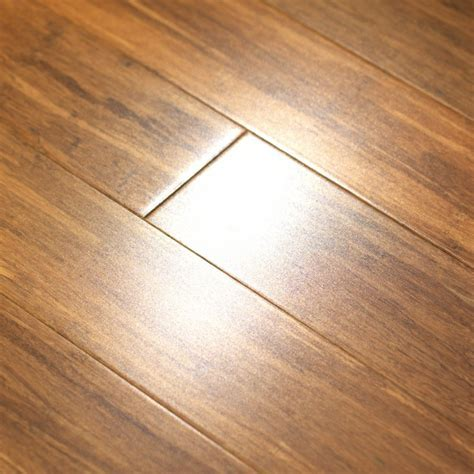"""9/16"""" Solid Strand Woven Bamboo Carbonized iFLOOR Canada"""