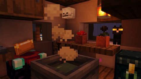 minecraft witch hut interior minecraft interior design minecraft designs minecraft decorations