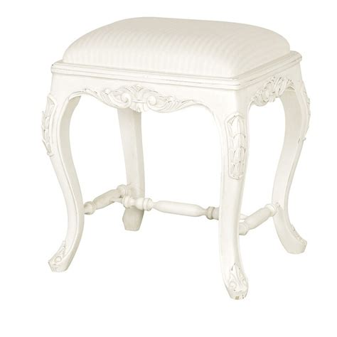 chateau style small dressing table stool