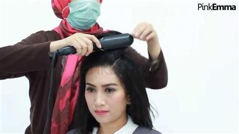 tutorial rambut sanggul  rambut pendek youtube