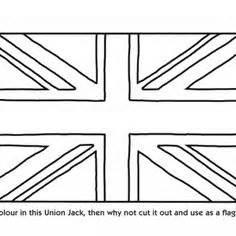 Union Jack Coloring Page