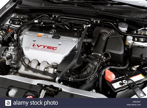 Acura Rsx Engine by 2006 Acura Rsx Type S In Silver Engine Stock Photo