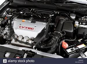 2006 Acura Rsx Type-s In Silver - Engine Stock Photo  Royalty Free Image  16030595