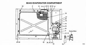 Manitowoc Bd0452a Ice Machine Parts Diagram