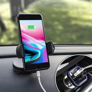 Chargeur Voiture Iphone : pack support voiture iphone 8 olixar drivetime avec chargeur avis ~ Dallasstarsshop.com Idées de Décoration