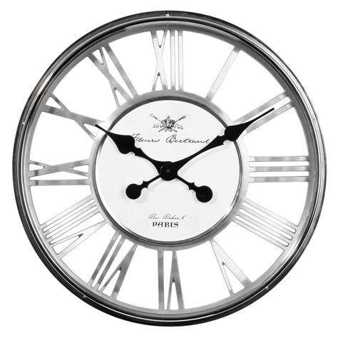 horloge regent chrome maisons du monde