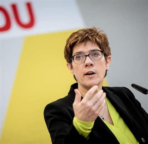 Presidential elections, the german debate over the future of transatlantic relations is fractious. Kramp-Karrenbauer: CDU und CSU bleiben politische Familie ...