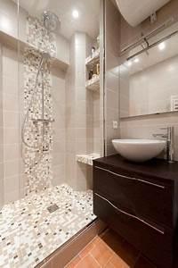 Douche à L Italienne : petite douche a l 39 italienne wc idee am nagement pinterest ~ Dailycaller-alerts.com Idées de Décoration