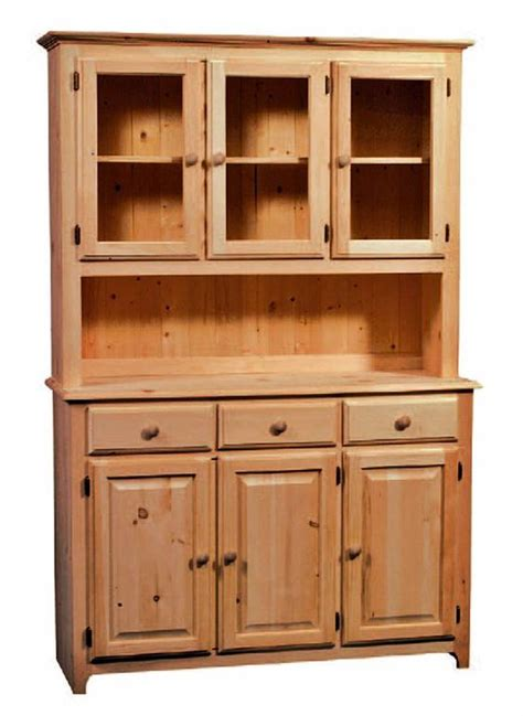 unfinished furniture hutch unfinished solid radiata pine 3 drawer 3 door buffet 3