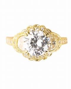 yellow gold engagement rings martha stewart weddings With martha stewart wedding rings