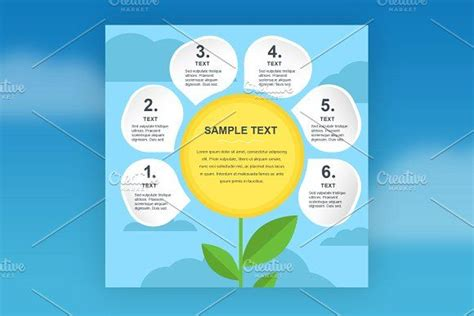 eco infographic template   infographic templates