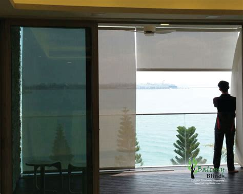 Outdoor Roller Blinds by Outdoor Roller Blinds Singapore Balconyblinds