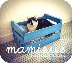 Panier Pour Chat Original : diy le panier cagette pour chat ou chien my name is mamisue ~ Teatrodelosmanantiales.com Idées de Décoration