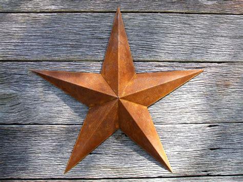 72 Inch Large Rusty Metal Star, Heavy Duty Amish Barn Stars