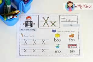 two letter x words preschool letter x in my world 25355 | Preschool Letter X 2