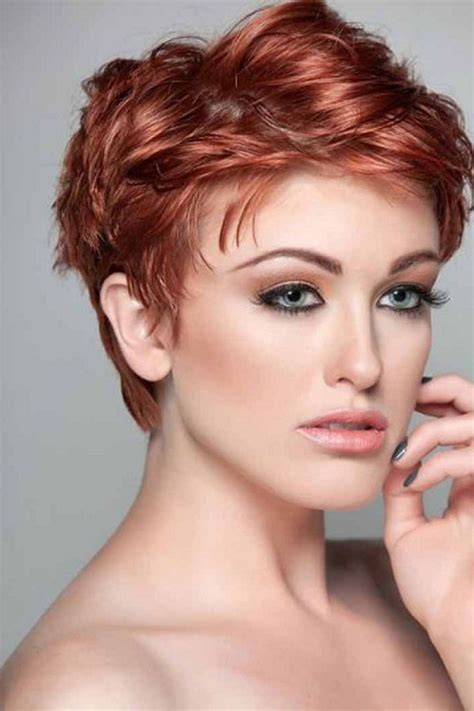 Very Short Wavy Hairstyles Womens Short Hairstyles For