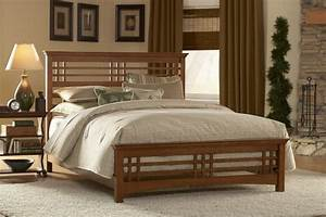 Home Design: New Double Bed Design In Wood Picture