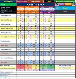 P90X Workout Sheets