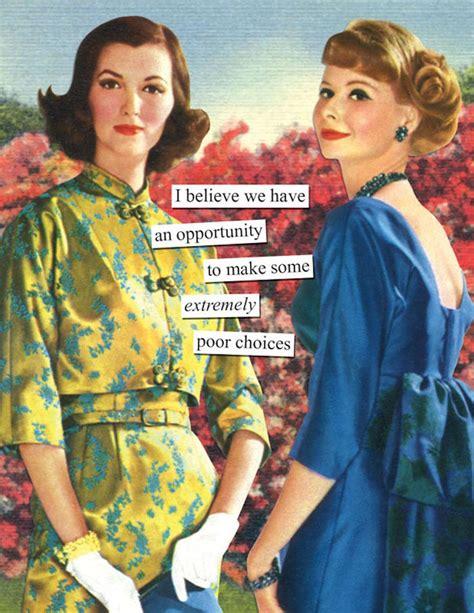 passive aggressive retro pics   women
