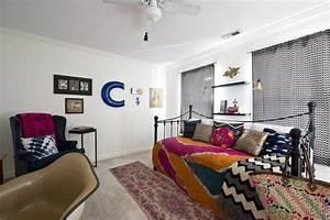 Deco Chambre Ami : visite une maison mid century cocon d co vie nomade ~ Melissatoandfro.com Idées de Décoration