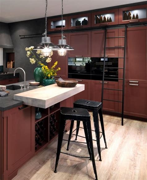 kitchens design trends  colors materials