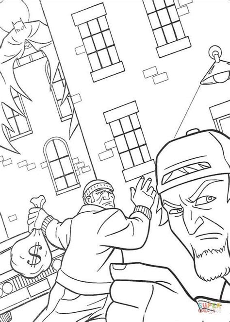 Dib Full Form In Police by The Thief Coloring Page Free Printable Coloring Pages
