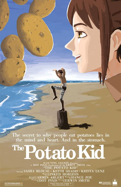 Potato Girl Meme - a scouting legion master agrees to teach a hungry girl 3d maneuver gear and asks her why she is