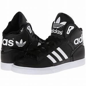 Adidas Shoes High Tops For Girls Black And White | www ...