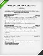 Office Clerk Cover Letter Samples Resume Genius Example Resume Office Clerk Resume Sample Example Payroll Clerk Resume Free Sample Best Photos Of Office Clerk Resume Samples General