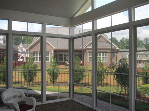 screen porch plastic windows modern screen porch plastic