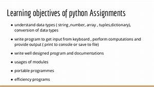 Python tuple assignment phd dissertation structure python 3