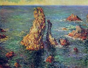 Bel Ile En Mer : art artists claude monet part 17 1886 1887 ~ Medecine-chirurgie-esthetiques.com Avis de Voitures