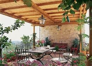 Mediterrane terrassen mobel ideen 2018 for Mediterrane terrassenüberdachung