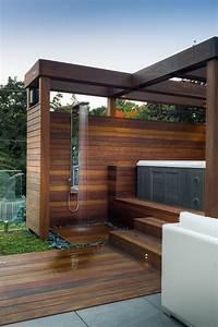 toronto outdoor shower fixtures patio contemporary with