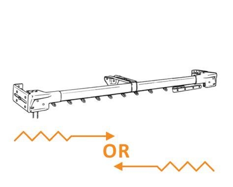 graber regular duty 66 120 inch traverse curtain rod one
