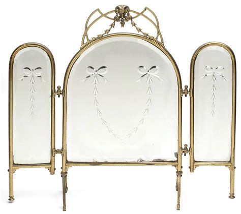 3 way vanity mirror three way vanity dressing table mirror at 1stdibs