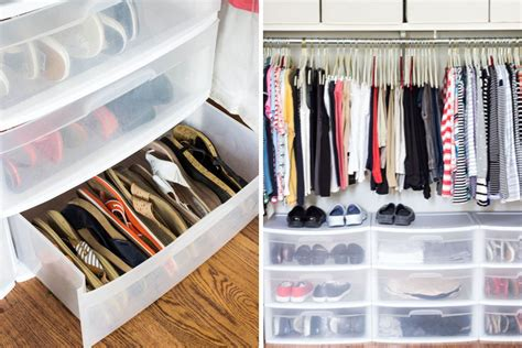 Organizing Closet Space Ideas by How To Organize Your Shoes Sandal Organizing Cheap