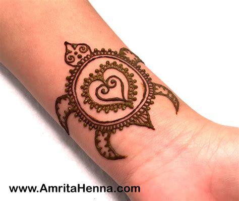 Best Easy Henna Turtle Design For Kids  Henna Tattoo