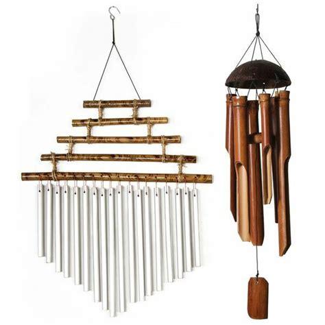 klangspiel selber machen lestarie windspiel klangspiel feng shui windspiele bambus kokosnuss metall ebay