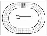 Race Track Coloring Printable Pages Math Racing Drawing Board Sheets Tracks Bulletin Facts Boy Diy sketch template