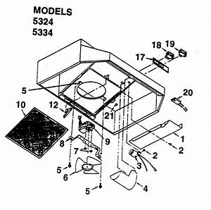 Kenmore Range Hood Parts