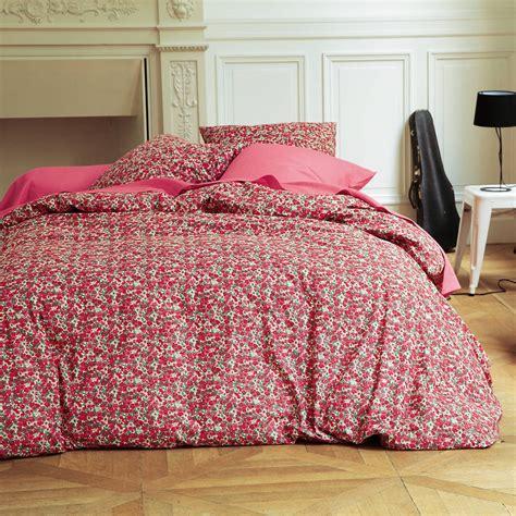 housse de couette fleurie housse de couette coton imprim 233 e fleurs flori 3 suisses 140 x 200 15 euros d 233 co