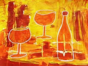 Abend Zu Zweit : abend zu zweit traum 0range weingl ser abstrakt von dreamgirl bei kunstnet ~ Orissabook.com Haus und Dekorationen