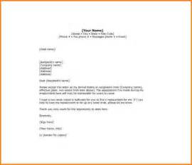 Two Weeks Notice Resignation Letter Templates