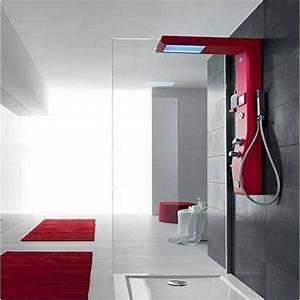 Colonne De Douche Design : colonne de douche design etoile 125x21x60cm 2 jets ~ Premium-room.com Idées de Décoration