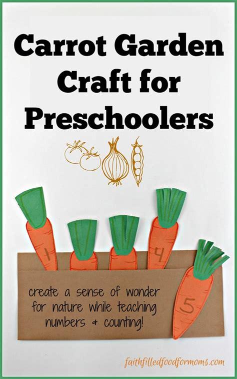 carrot garden craft for preschoolers faith filled food 552 | Carrot Garden Craft for Preschoolers thumb