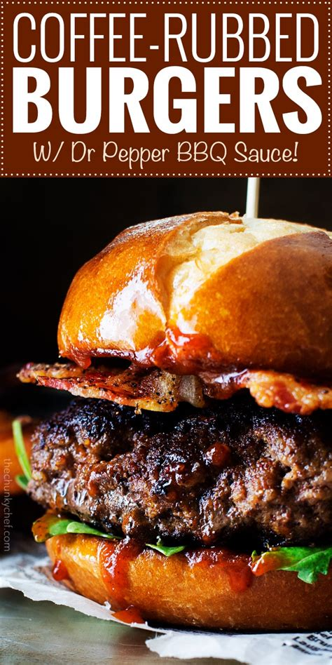 Tm & copyright 2021 burger king corporation. Coffee Rubbed Burgers with Dr Pepper BBQ Sauce - The ...