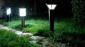 Eclairage Exterieur Jardin : eclairage exterieur photovoltaique ~ Melissatoandfro.com Idées de Décoration